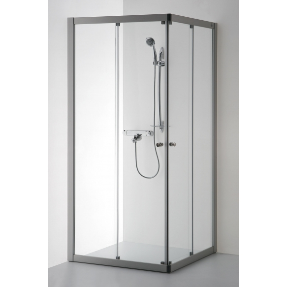 Shower enclosure RASA , clear glass