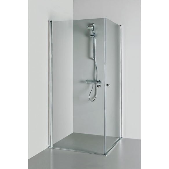 Shower enclosure VICTORIA , clear glass