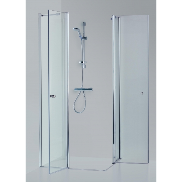 Shower enclosure SIMA , clear glass