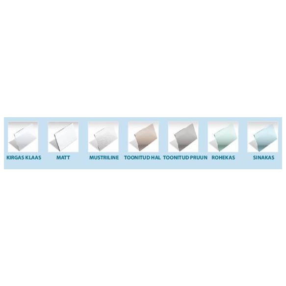 bath screen MAJA , clear glass