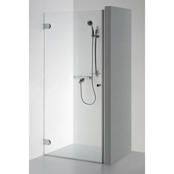 Shower door  EVA , clear glass