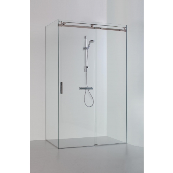 Shower enclosure MILDA , clear glass