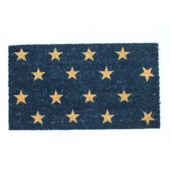 Doormat with stars