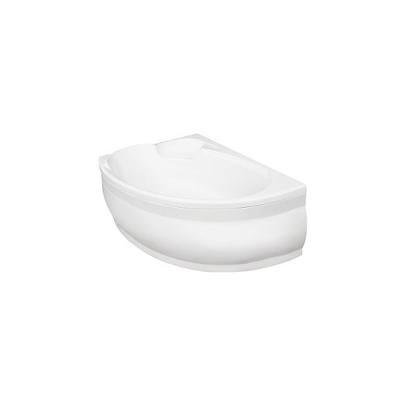 acrylic bathtub FINESSE, with front panel, without drain-overflow