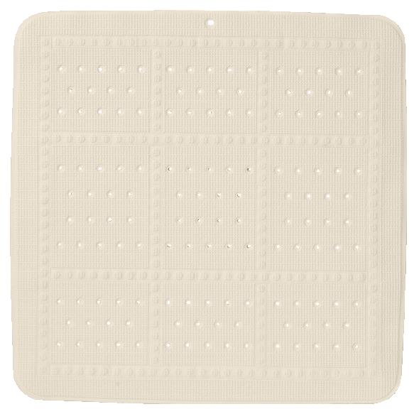 UNILUX showermat, beige, 55x55 cm