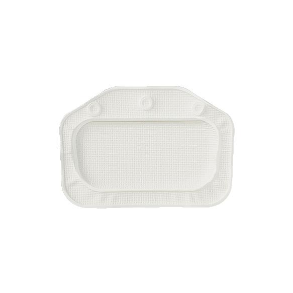 UNILUX headrest, white, 32x22cm