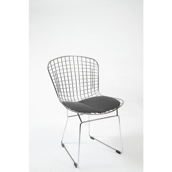 chair,black+chrome