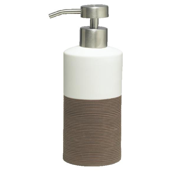 pruun vedelseebidosaator DOPPIO, käsitsi valmistatud keraamika
