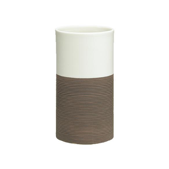 pruun tops DOPPIO, käsitsi valmistatud keraamika