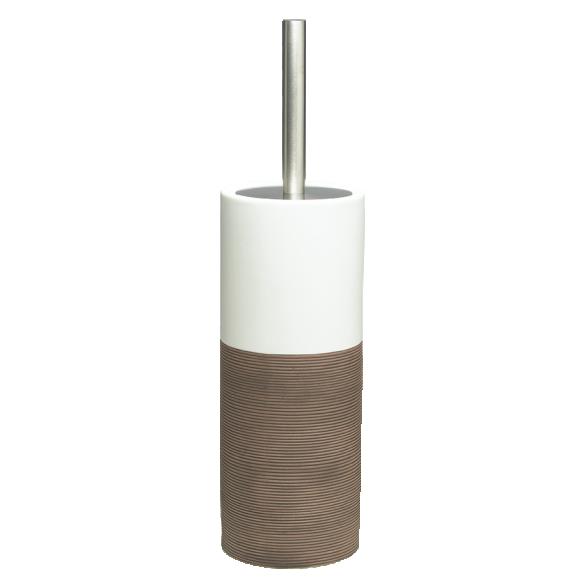 pruun wc hari DOPPIO, käsitsi valmistatud keraamika