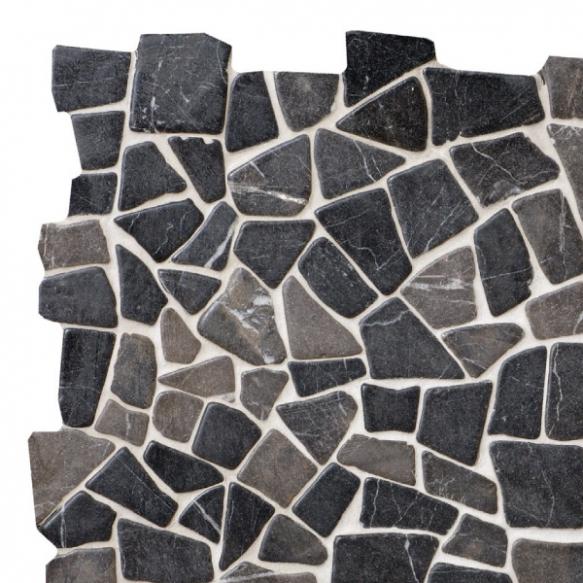 Mosaic marble Grey Interlock