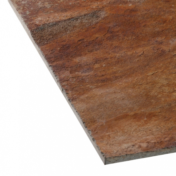 Rusty slate 12mm 100x300x12mm