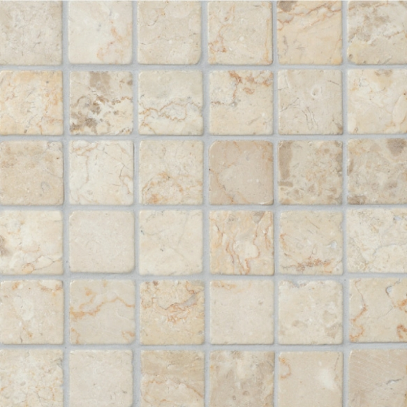 Square White marble 50x50mm
