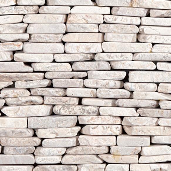 Standing mosaic White, Interlocking