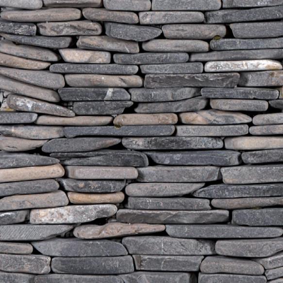 Standing mosaic Grey, Interlocking