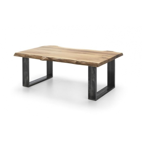 Coffee table natural, `v` legs