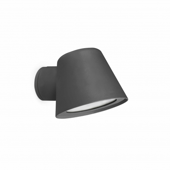 GINA dark grey beacon lamp,1 x GU10 35W not included