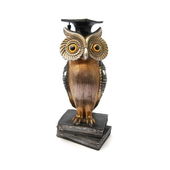 Deco Owl, h28cm