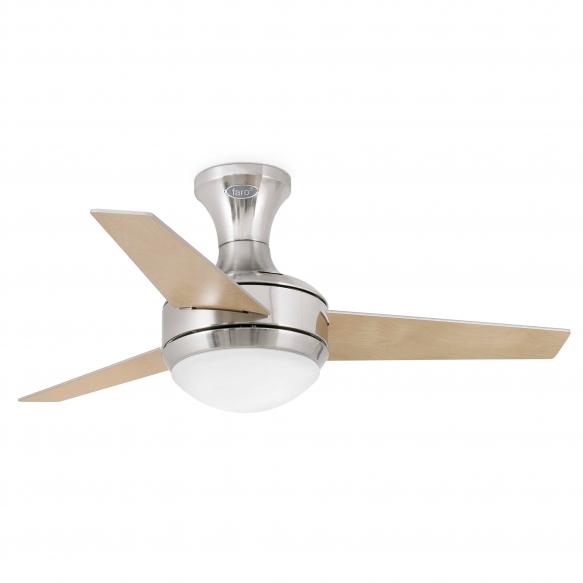 ventilator-light Mini Ufo, mat nickel, 2XE27 20W, bulbs not included