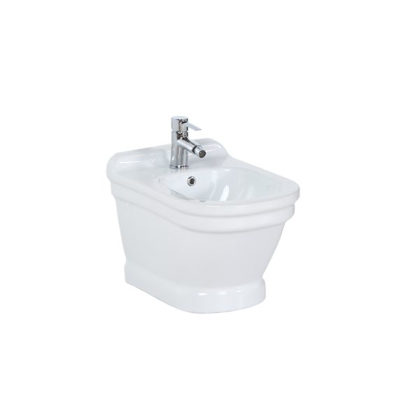 wall hung bidet Antique, white