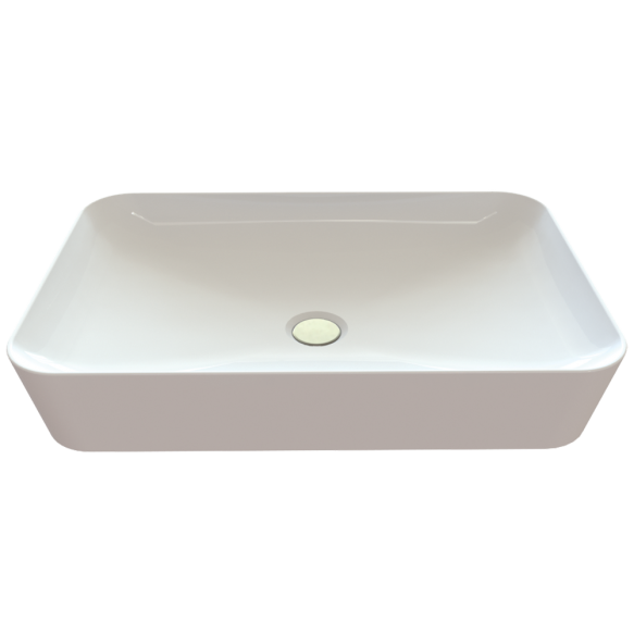worktop wahbasin Ultra, white