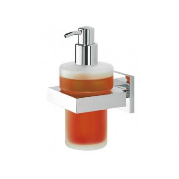 soap dispenser ITEM, chrome, no screw assembling