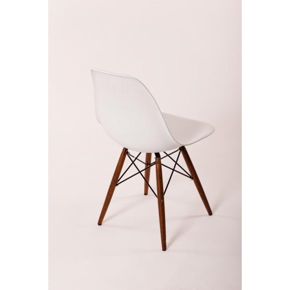 tool Alexis, valge, pähklipruunid jalad
