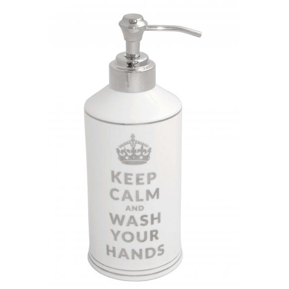 liquid soap dish Keep Calm