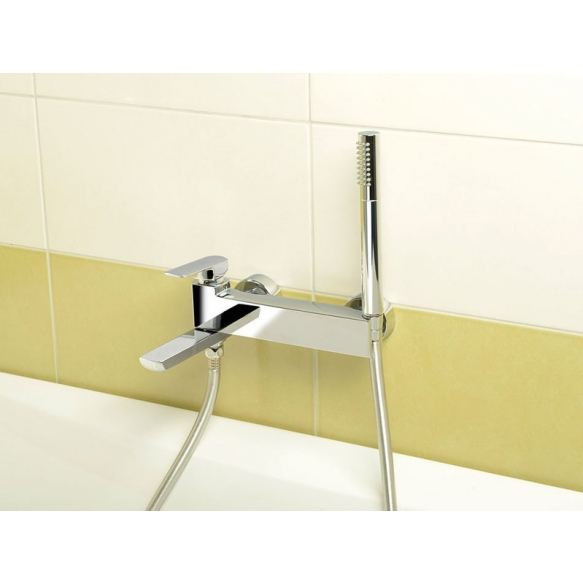 MIXONA Wall mounted bath mixer, chrome, without hand shower and hose