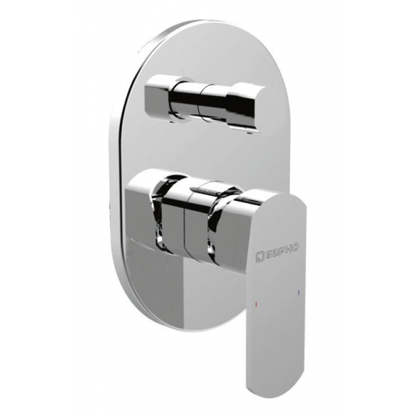 MIXONA Single Lever Concealed Shower Mixer, 2 outlets, chrome