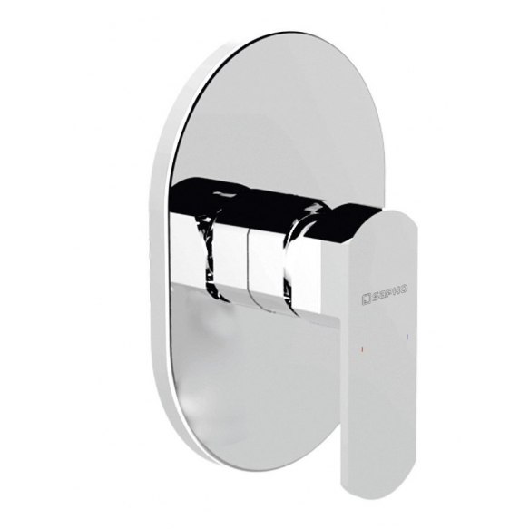 MIXONA Single Lever Concealed Shower Mixer, 1 outlet, chrome