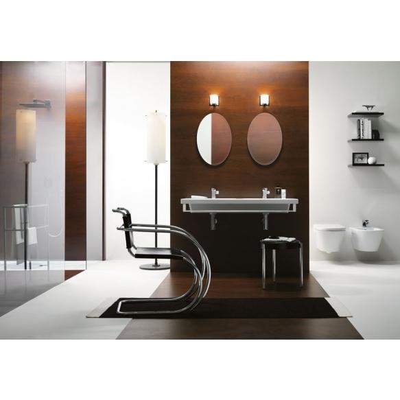 NORM ceramic washbasin 125x18x50cm