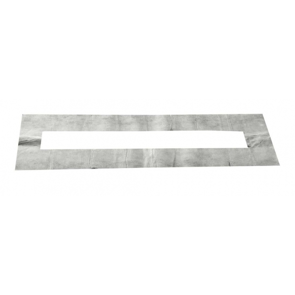 Stainless steel shower drain with grid Bucanera, 900x110mm