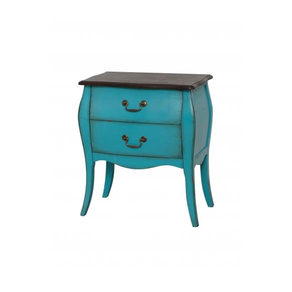 nightstand Mellow,blue, wood
