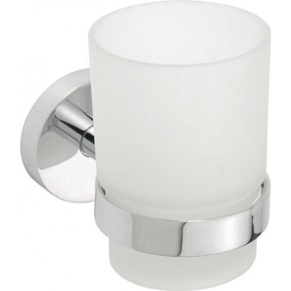 X-Round Tumbler holder, chrome