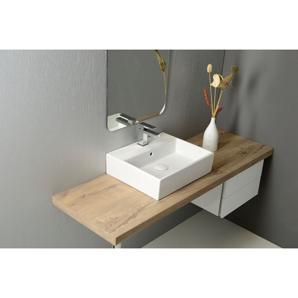 PURITY ceramic washbasin 60x42cm