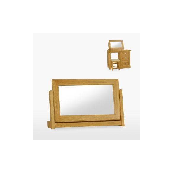 Large swing mirror