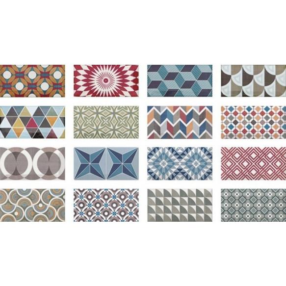 METRO Patchwork Colours 7,5x15 (EQ-10D), müük ainult paki kaupa (1 pakk = 0,5 m2)