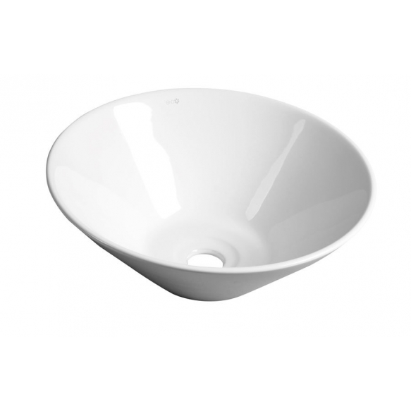 COMILLAS ceramic washbasin, diameter 42cm, top counter