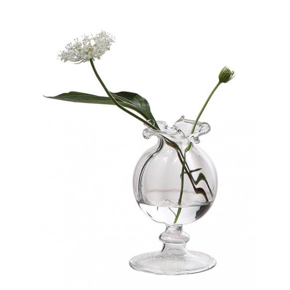 "2-1/2""H Glass Vase"