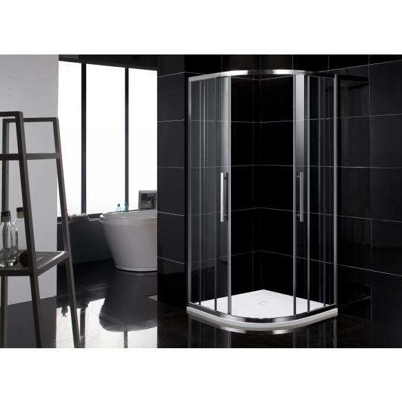 cast stone shower tray 90x90x4,5 cm