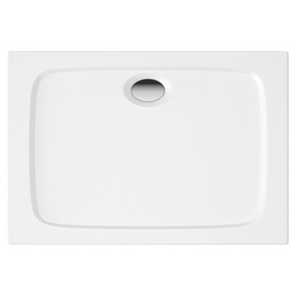 90x80 square stone shower tray, incl front panel, feet and waste S0008+1711C+S0506+S0509