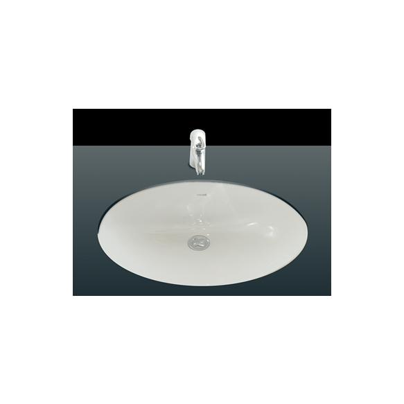 36X50 cm UNDERCOUNTER MEDIUM WASHBASIN WHITE