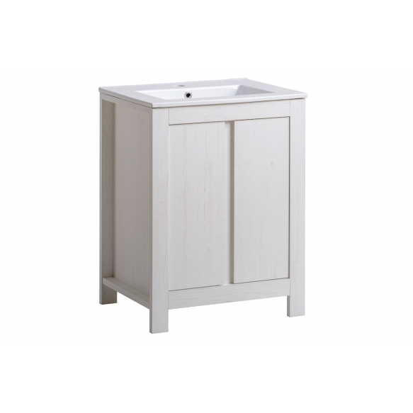 cabinet under washbasin Oak Andersen 60 cm (2D), basin not included