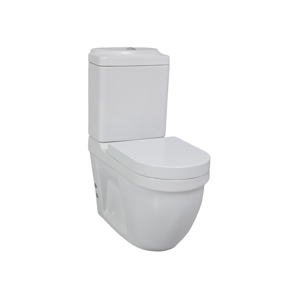 DREAM WC kompakt, 2-süsteemne, universaalne trapp ilma istmeta (DR310+DR410+IT5030)