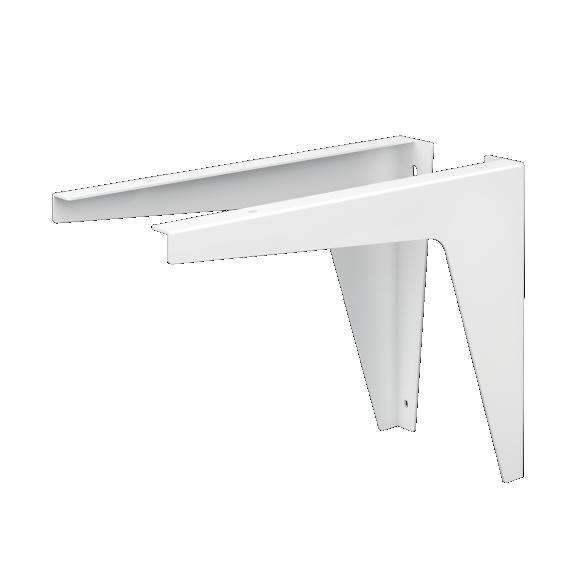 valge värvitud metallist kinnitus silkstone valamutele Credo,Piano, 1 tk