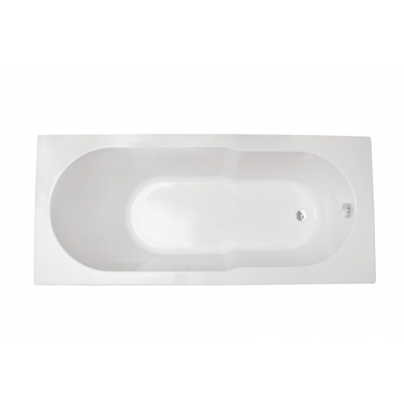 acrylic bath Oceania 170x75+ feet set and long side panel