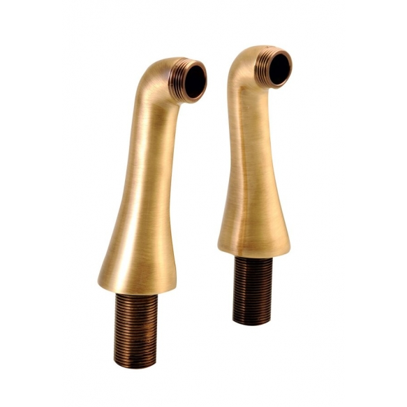 1 bath mixer deck mount foot, bronze ( 1 set need 2 pcs)
