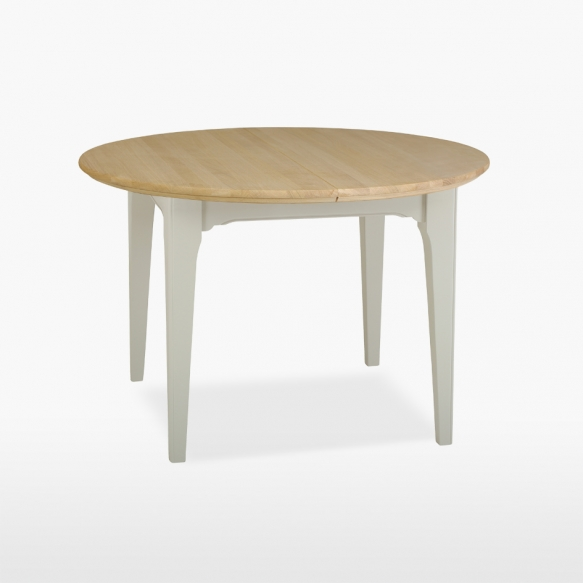 Extending round table 1 leaf