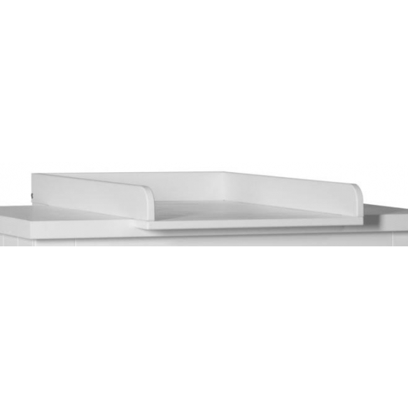 Barcelona - removable changing unit, white